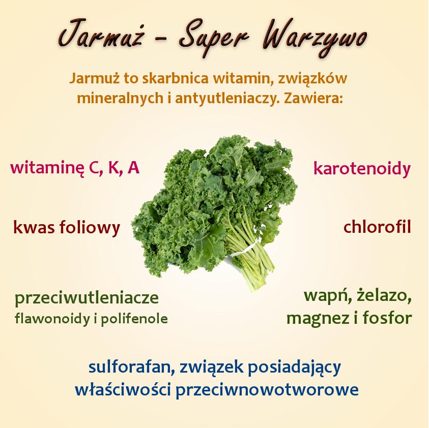 Jarmuż warzywo pełne zdrowia